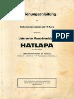 Hatlapa Compressor Manual