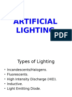 ARTIFICIAL LIGHTING.ppt
