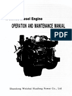 Weichai Huafengdongli R Series Diesel Engine Manual