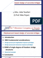 Application of Displacement Based Design in Concrete Bridges