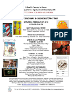 Pi Beta Phi Fraternity Day of Service Event Flyer