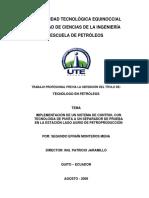 Facultad de Ciencias de La Ingenieria de Petroleo
