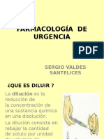 Farmacología de Urgencia