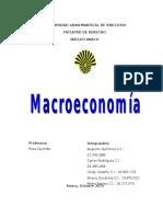 Trabajo de Macroeconomia Ugma