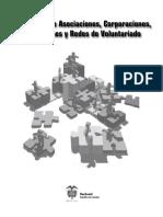 Cartilla Asociaciones, Fundaciones y Redes de Voluntariado