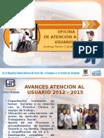 Rendicion de Cuentas 2015 Atencion Al Usuario