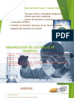 Diapositivas Propiedad Intelectual y Salud Publica