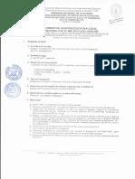 Convocatoria Cas 088-2015