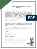 Propuesta Intervención Didáctica Control Postural 1