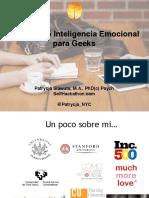 Patrycja Slawuta; Inteligencia Emocional Para Geeks
