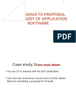 2. Model Answer for Case Study 2 -Responding to Proposal for is Audit of Application