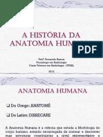 AULA 02 - A História Da Anatomia Humana