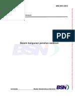 SNI 2851-2015 tentang Desain Bangunan Penahan Sedimen