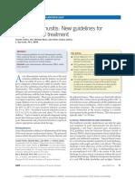 Acute Rhinosinusitis New Guidelines