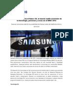 NP-Samsung Presenta El Futuro 5G