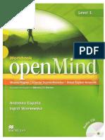 244414501 Open Mind Lvl 1 Workbook PDF