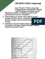 Proyeksi Oblique