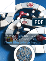 Managing Patients With Type 2 Diabetes-from Lifestyle to Insulin
