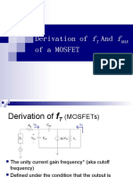 Ft Fmax Derivation