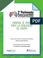 Material de Apoyo 2do Parlamento Federal Juvenil