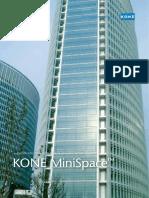Lift details of kone minispace