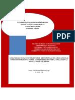 Guía Para La Elaboración de Proyectos de Investigación Social