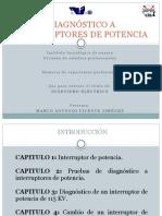 DIAGNÓSTICO A INTERRUPTORES DE POTENCIA