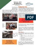 OTHR February 2016 Newsletter