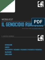 Web Quest Genocidio Ruanda
