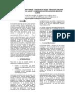 Diseño e Implenentacion de Convertidor Dc