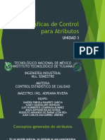 Gráficas de Control Para Atributos Unidad 3