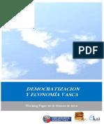 DEMOCRATIZACION Y ECONOMIA VASCA