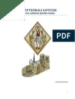 Cattedrali Gotiche Troyes Reims Amiens Paris