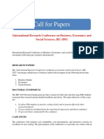 IRC Conference Call for Papers