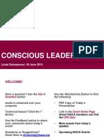 ISACA Conscious Leadership