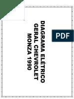 Diagrama Eletrico Monza