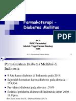 Farmakoterapi - Diabetes Mellitus