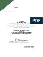 Propuesta de lineamientos de políticas de reconstrucción con visión de desarrollo en las áreas priorizadas