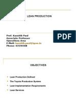 6366849 Lean Production