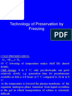 Technology of Preservation by Freezing
