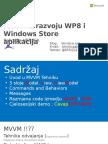 MVVM u Razvoju WP8 i Windows Store Aplikacija