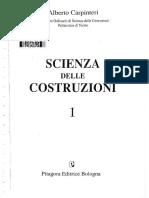 Scienza Delle Costruzioni Vol 1