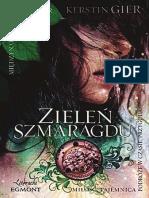 Kerstin Gier - Trylogia Czasu 3 - Zieleń Szmaragdu