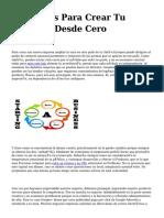 <h1>tres Pasos Para Crear Tu Empresa Desde Cero</h1>