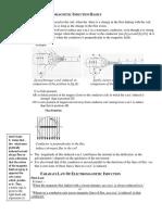 Electromagnetic Induction Basics
