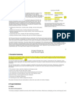 Pmbok project charter template project management accountability project charter maxwellsz