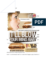 First Print Advertisement