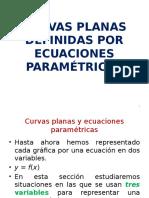 Curvas Planas Definidas Por Ecuaciones Paramametricas