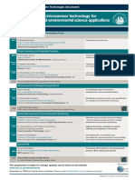Microfluidics and Mircosensor Programme as at 21 March 2013