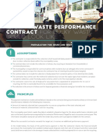 waste performance contract